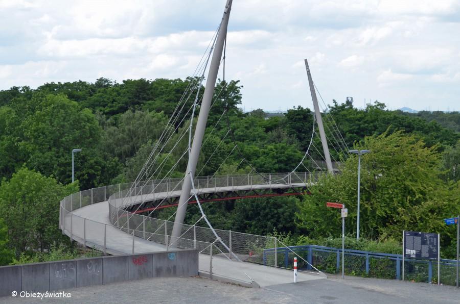 Ścieżka rowerowa, Zagłębie Ruhry.  Zdjęcie Obieżyświatka
