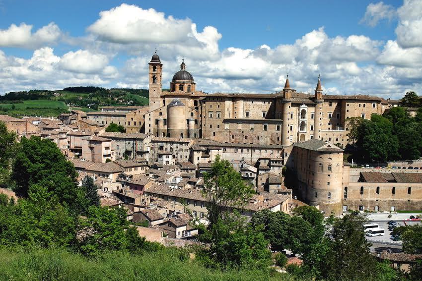 Urbino w obiektywie Renaty
