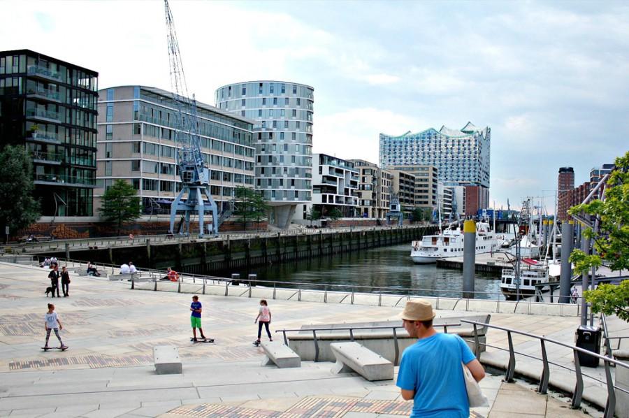 Hamburg widziany oczami Magdy, dzielnica Hafen City
