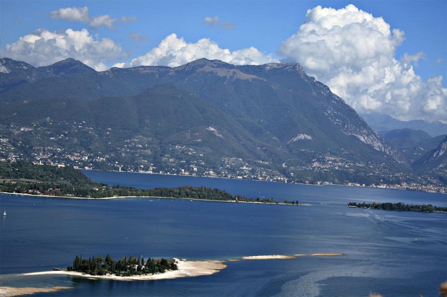 Włochy w obiektywie Magdy a dokładnie Rocca di Manerba, Jezioro Garda, Lombardia.