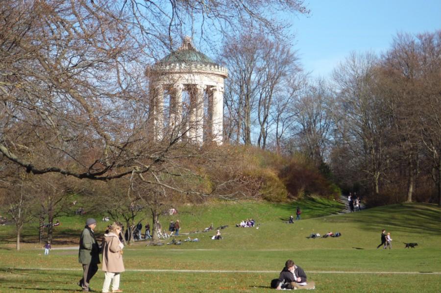 Englischer Garten w Monachium. Zdjęcie Dominiki.