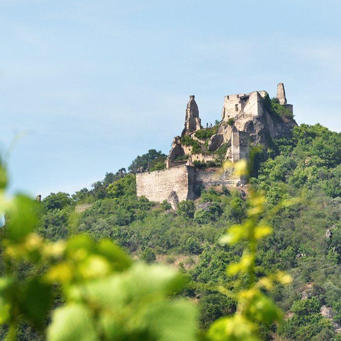 Te ruiny to pozostao po zamku Drnstein Wie si zhellip